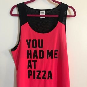 Pizza tank